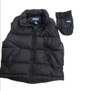 Lands End Goose Filled vest M